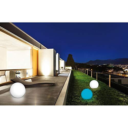 Lampe Boule lumineuse LED solaire, 30 cm, IP67 Jardin piscine