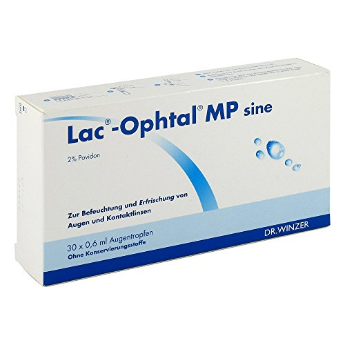 LAC OPHTAL MP sine Augentropfen 30X0.6 ml