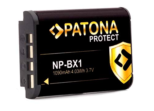 PATONA Protect V1 Battery NP-BX1 - Compatible con Sony Vlog ZV-1 DSC...