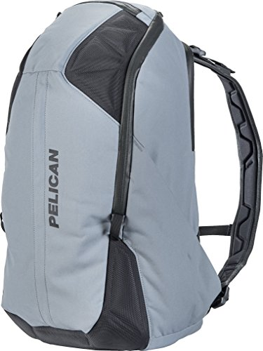 Pelican Weatherproof Backpack Mobile Protect Backpack [MPB35] - 35 Liter (Grey), One Size (SL-MPB35-GRY)