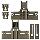 6 Pack W10350376 Dishwasher Top Rack Adjuster, W10350376(2) W10195839(2) W10195840(2) for Kenmore Elite...
