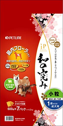 スマートマットライト ジェーピースタイル ジェーピースタイル 和の究み 小粒 1歳からの成犬用 4.2kg