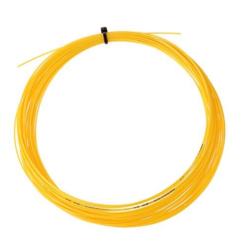 NON 1 Pieza de Cuerda Duradera de Raqueta de Bádminton Correa de Reparación para Patio de Bádminton Material Fibra - Amarillo