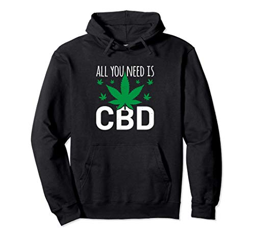 CBD Stay THC Bong Kiffen Hanf Haze Ganja Cannabis Joint High Pullover Hoodie