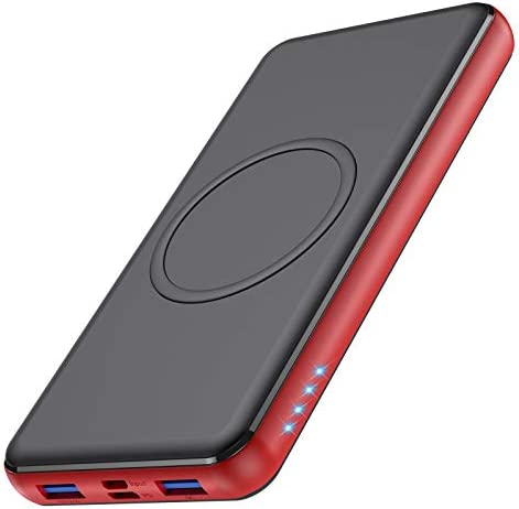 Wireless Portable Charger 26 800mAh 10W Wireless Charging PD 18W 3 0 Fast Charging power bank product image