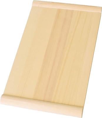 木曽工芸 木製 まな板 ひば (中) 42×24×3㎝