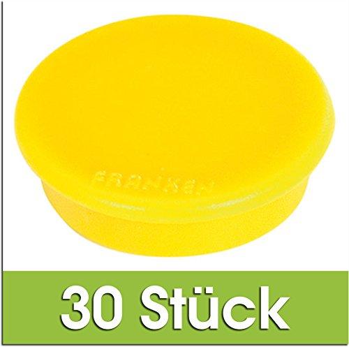 FRANKEN HM20 04 Magnet (24 mm, 300 g) (Gelb, 30 Stück)