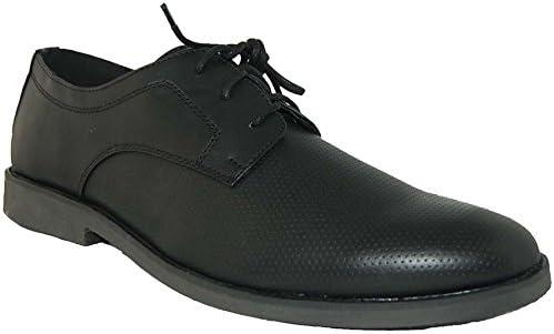 Shoe Artists Bet on Black Leather Lined Upper Oxfords