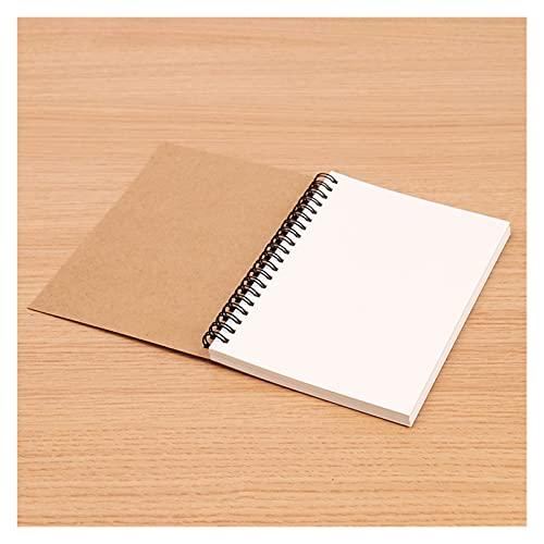 Sketchbook Diary para dibujar pintura Pintura Soft Cover Papel SketchBook Bloc de notas Notebook Oficina Suministros Escolares Regalo (Color : C)