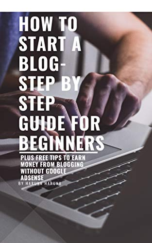 HOW TO START A BLOG- STEP BY STEP GUIDE FOR BEGINNERS: Plus Free Tips On How To Earn From Your Blog Without Google AdSense (English Edition)