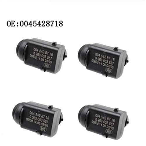 4 PCS Parking Distance PDC Sensor for Mercedes-Benz W203 W209 W210 W211 W220 W163 W168 W215 W 251 S203 0045428718 A0045428718