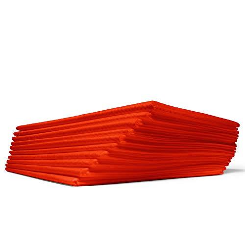 Dr. Güstel Waschfaserlaken® ACTIV Vlieslaken 300x waschbar rot 5 St. 120x210cm Auflage für Massageliege OEKO-TEX® -zertifiziert DAS ORIGINAL