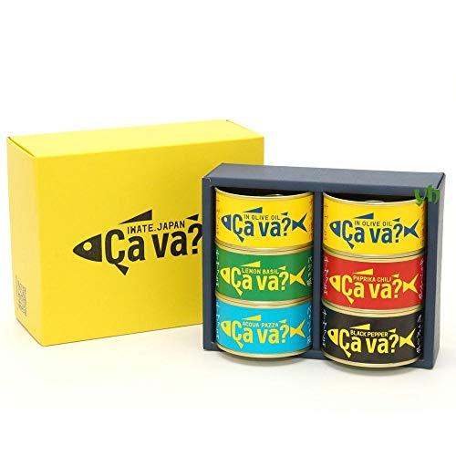 新商品 [2020 ギフト] 国産サバ(オリーブオイル、レモンバジル、パプリカチリソース、アクアパッツァ、ブラッグペッパー) 5種アソート6缶セット ギフト箱