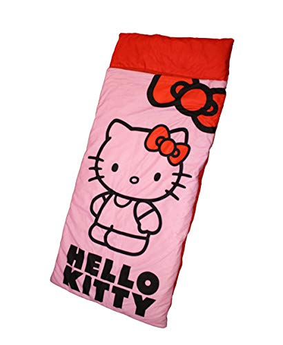 Hello Kitty Kinder Schlafsack Camping Outdoor 165 x 75 cm