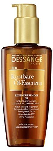 Dessange Professional Hair Luxury Kostbare Öl-Essenzen Öl für sehr trockenes, überstrapaziertes Haar, 125 ml