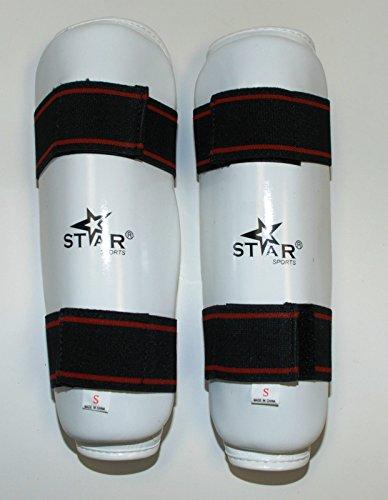 Star Sports Wtf Taekwondo Shin Guard - Protector (XS)