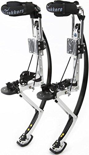 Air-Trekkers Adult Model - Carbon Fiber Spring Jumping Stilts - Small, 120-160 lbs