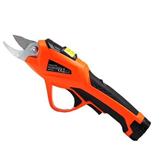 Best Deals! Electric Secateurs, Rechargeable Garden Cutting Shears, 10mm Secateurs Pruning Cutter To...