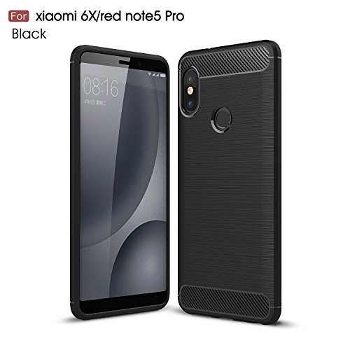 Xiaomi Redmi Note 5 pro / Xiaomi Redmi Note 5 Case, AVIDET Shock-Absorption Flexible Soft Gel TPU...
