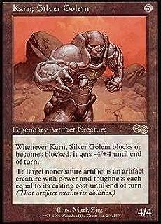 Magic: the Gathering - Karn, Silver Golem - Urza's Saga