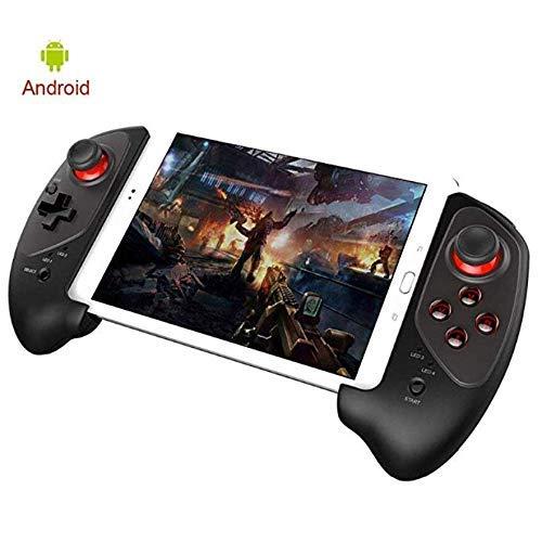 L@LILI PG-9083 Manette de Jeu sans Fil Bluetooth 3.0 contrôleur de Manette rétractable pour iOS Android Smartphone Win7 Win8 Win10 PC