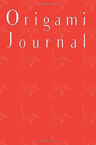 Origami Journal: 120 page Journal with origami crane