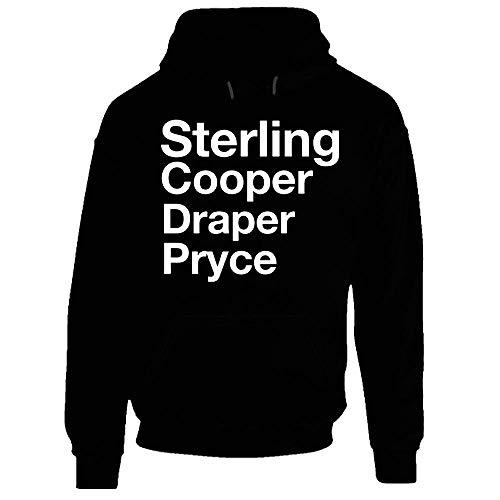 Mad Men sterling Cooper Draper Pryce huvtröja galna män reklambyrå huvtröja.