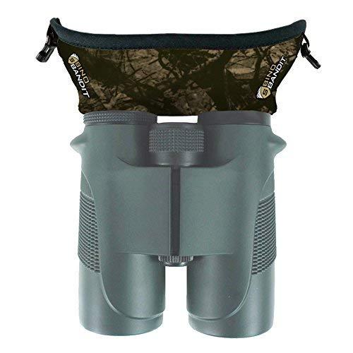 Slicker Bino Bandit - Blocks Glare, Improves Visual Acuity and Reduces Eye Fatigue. FITS All Binoculars. (Stealth Tan)
