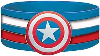 Marvel comic Retro Captain America Shield Rubber Wristband
