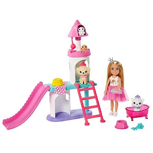 Barbie- Conjunto DE Juego Y MUÑECA DE Princess Adventure (Mattel GML73)
