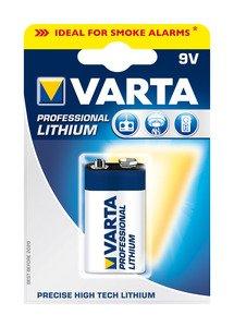 Varta Batterie Professional Lithium 9V BlockKat:Zubehör Festnetz/ISDN/Batterien