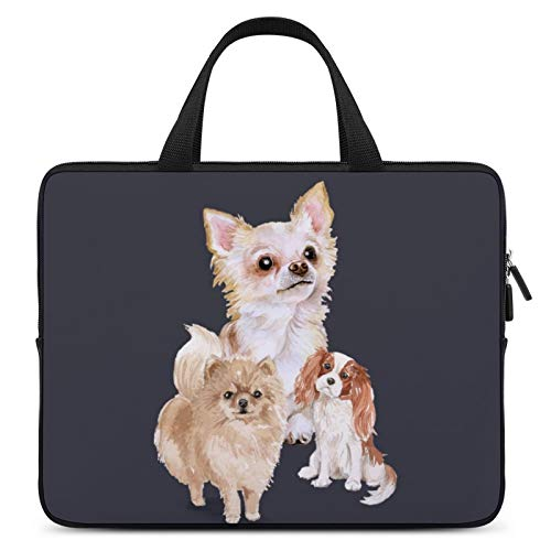 Universal Laptop Computer Tablet,Case,Cover for Apple/MacBook/HP/Acer/Asus/Dell/Lenovo/Samsung,Laptop Sleeve,Color for Mammal Vertebrate Dog Companion Dog Cat,10inch