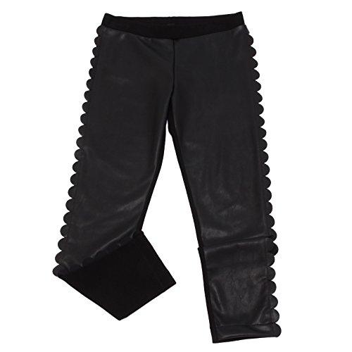 Fendi 4737W Leggings Bimba Girl Eco Leather Trouser [8 years]