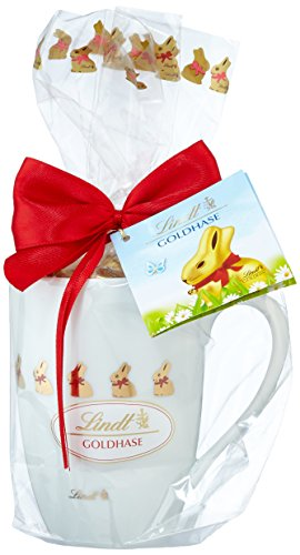 Lindt Mini-Goldhase in Porzellan Tasse, 100g