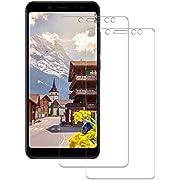 POOPHUNS [2 Stück] Xiaomi Redmi Note 5 Schutzfolie Panzerglas, 9H Härte Displayschutzfolie für Xiaomi Redmi Note 5, HD Ultra Klar, Anti-Kratzen, Anti-Öl