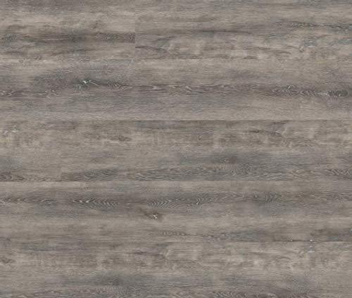 HORI® Klick Vinylboden PVC Bodenbelag I Wasserfest I viele Dekore wählbar I Eiche Ambiente Dortmund I 12 Dielen im Paket = 2,64 m²