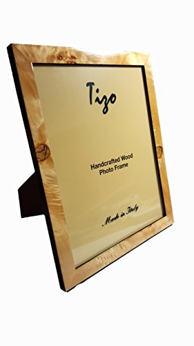 """Price comparison product image Tizo 8"""" X 10"""" Natural Brown Wooden Frame"""