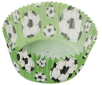 Decora 5339649 Paquet 2000 CAISSETTES Football 50 X 32 MM, Paper, Vert