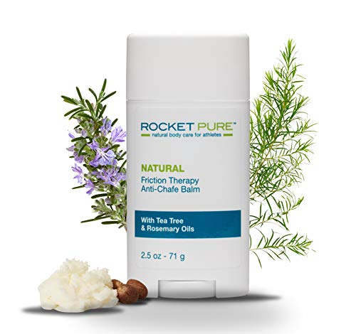 Rocket Pure Natural AntiChafe Balm quotNoMess Stickquot Glide Protection 25 oz 71 g