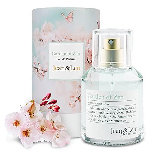 Jean & Len 2902101301 Garden of Zen Parfum Femme Eau de Parfum Fraîcheur Naturelle Harmonique Froid 50 ml