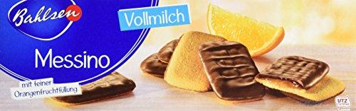 Bahlsen Messino Vollmilch - 12er Pack - Luftiges Gebäck mit Orangenfüllung und Vollmilchschokolade (12 x 125 g)