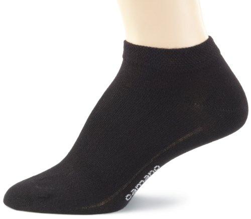Camano Unisex - Erwachsene Sneakersöckchen 3-er Pack,3003, Gr. 39-42, Schwarz (black 05)
