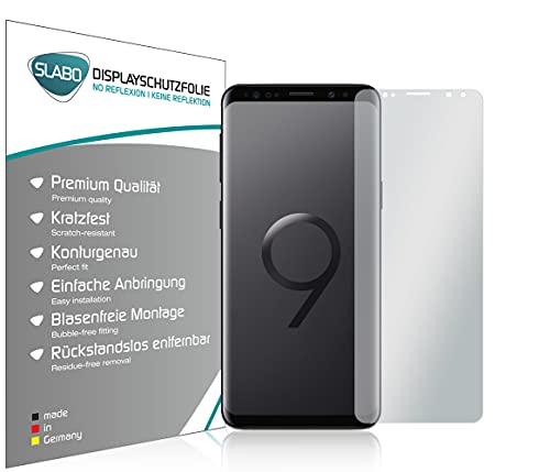 Slabo 4 x Pellicola Protettiva per Display per Samsung Galaxy S9 No Reflexion Opaca