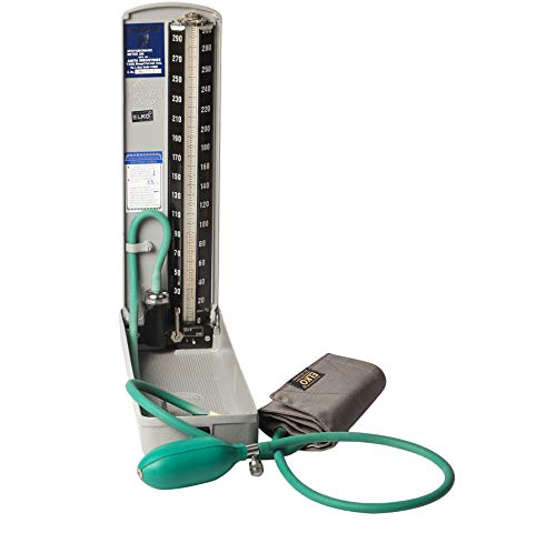 ELKO EL-310 ELKOMETER Regular Mercury Sphygmomanometer/Mercury Blood Pressure Monitor