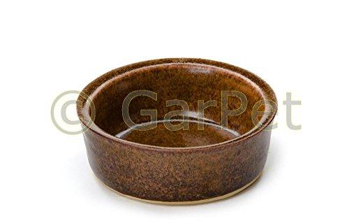 Keramik Trog Steintrog Futtertrog Futternapf Fressnapf Nager Kleintiere glasiert (Gr.1)