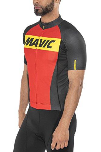 MAVIC Cosmic Fahrrad Trikot kurz rot/schwarz 2016: Größe: L (50/52)