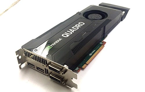 Dell Nvidia Quadro K5000 Grafikkarte (4 GB, GDDR5, 1536 CUDA, RCFKT)