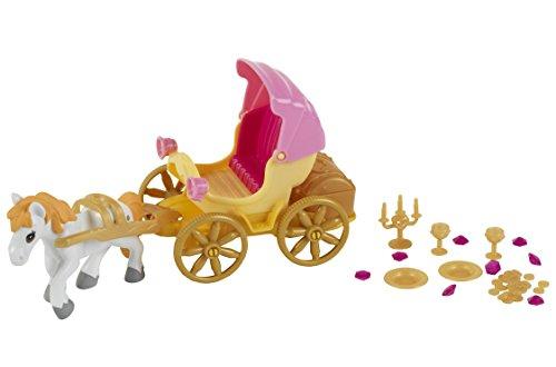 Theo Klein 5101 - Princess Coralie Kutsche mit Pferd, Puppen, Spielzeug