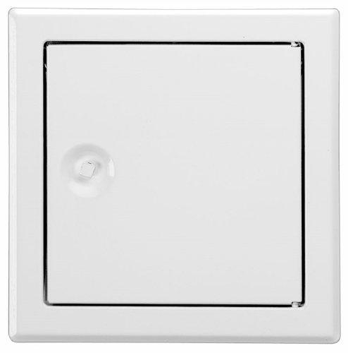Revisionstür 20 x 50 cm weiß mit Vierkantverschluss incl. Schlüssel