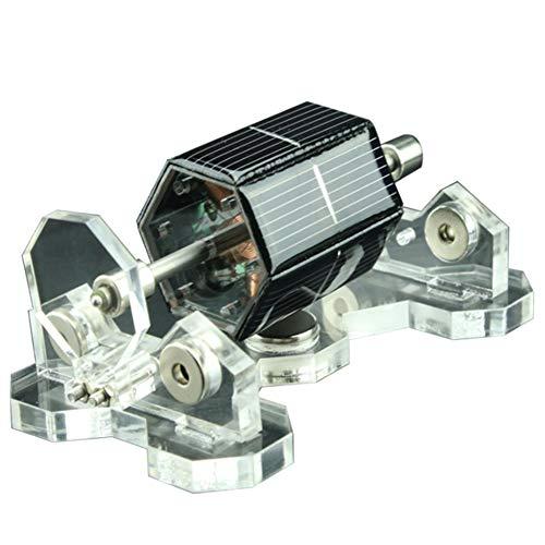 XFY Solar Magnetschwebebahn Modell, Magnetische Levitation Motor 300-1500R/Min, DIY Kit Spielzeug Geburtstagsgeschenk